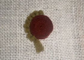 Ali Strebel: Standing Wool Circles