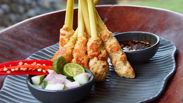 Resep Sate Lilit Ayam Khas Bali Resep Masakan Resep Masakan