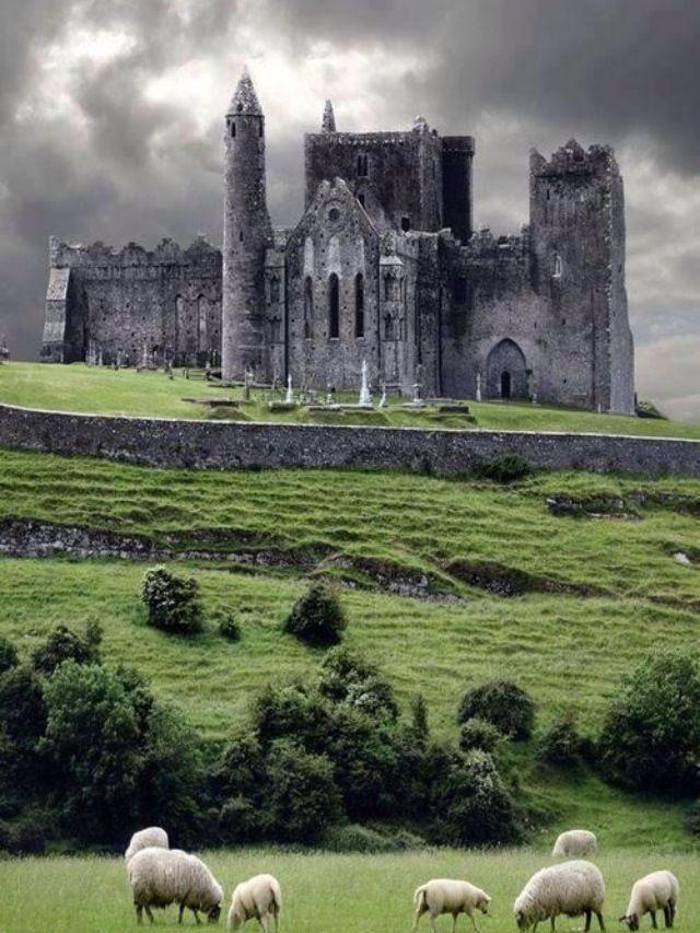 Rock of Cashel (cemetery view), Ireland Summer 2013