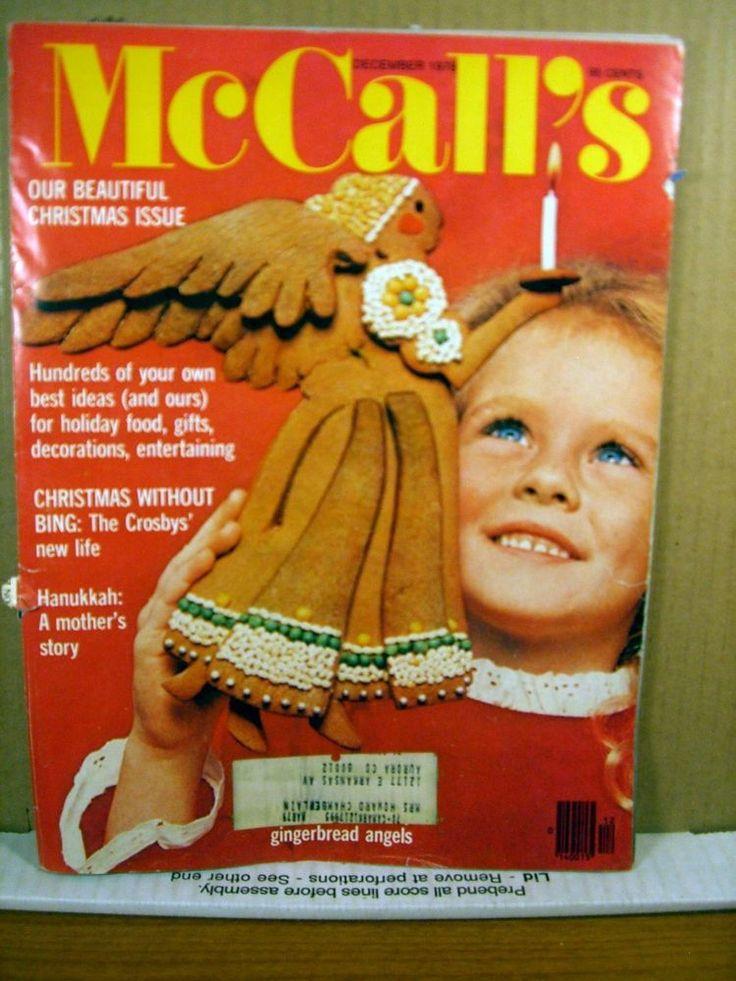 McCall's Magazine December 1978 Christmas Issue, Bing ...