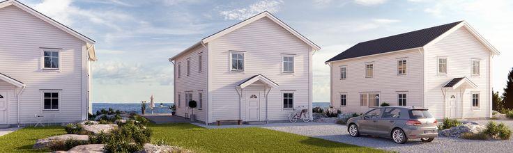 Tidlös 06: Klassiskt 2-planshus där rumsfunktionerna är placerade för goda flöden
