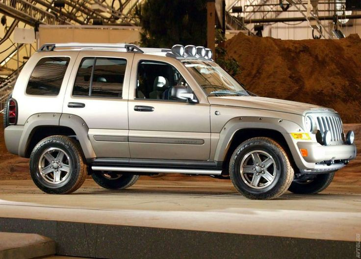 2005 Jeep Liberty Renegade 3.7. I'd love to have a Liberty <3
