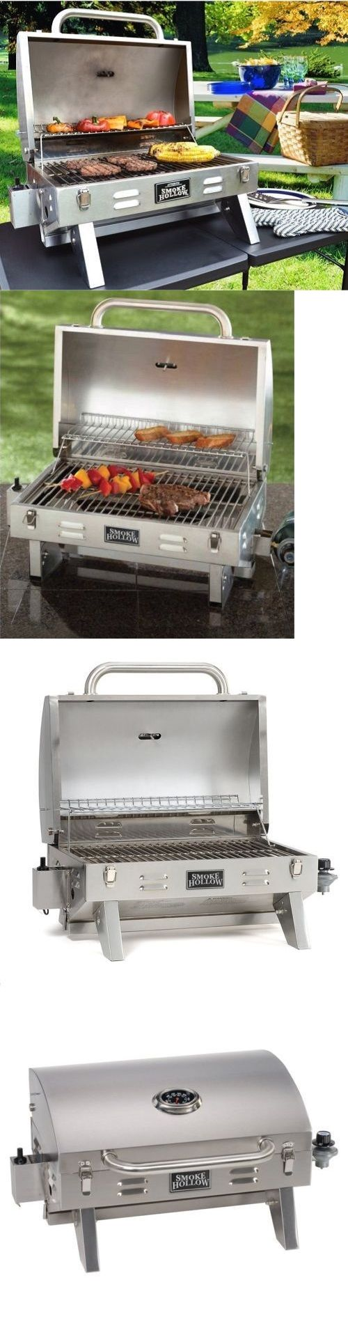 Camping BBQs and Grills 181388: Hibachi Grill Gas Propane On Clearance Sale Best Mini Small Tabletop Boat Rv BUY IT NOW ONLY: $99.99