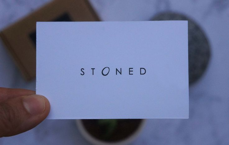 Business cards | STONED