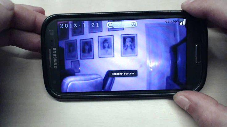 Monitorizare video direct pe telefonul mobil