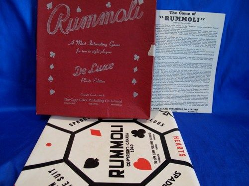 Rummoli - played at my grandmothers house after dinner