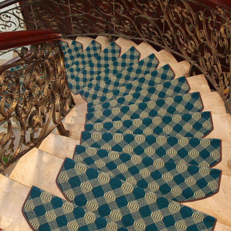 Alibaba グループ | AliExpress.comの マット からの 青いチェック柄廊下はしごパッド階段マット 中の 青いチェック柄廊下はしごパッド階段マット