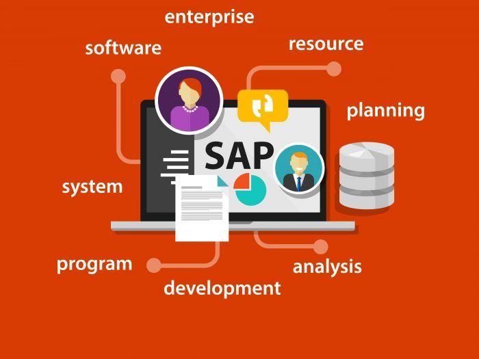 Sistem Sap Sap Technology Infrastructure Business Infographic