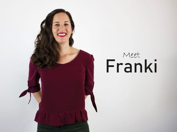 Franki Top // Digital Sewing Pattern