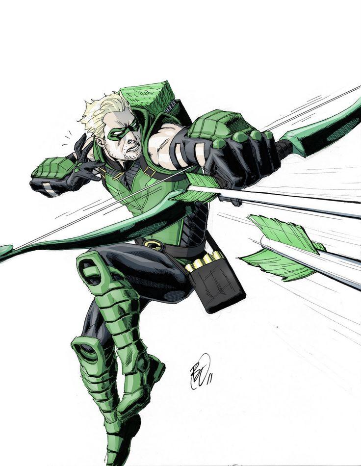 Benjamins new 52: Green Arrow