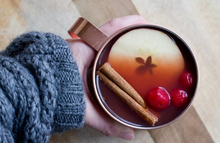Mulled Tart Cherry Apple Cider | Choose Cherries