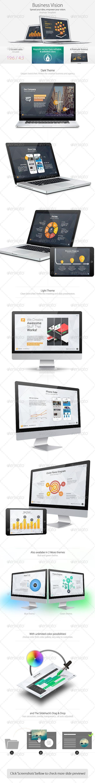 Business Vision - Keynote Template - Keynote Templates Presentation Templates