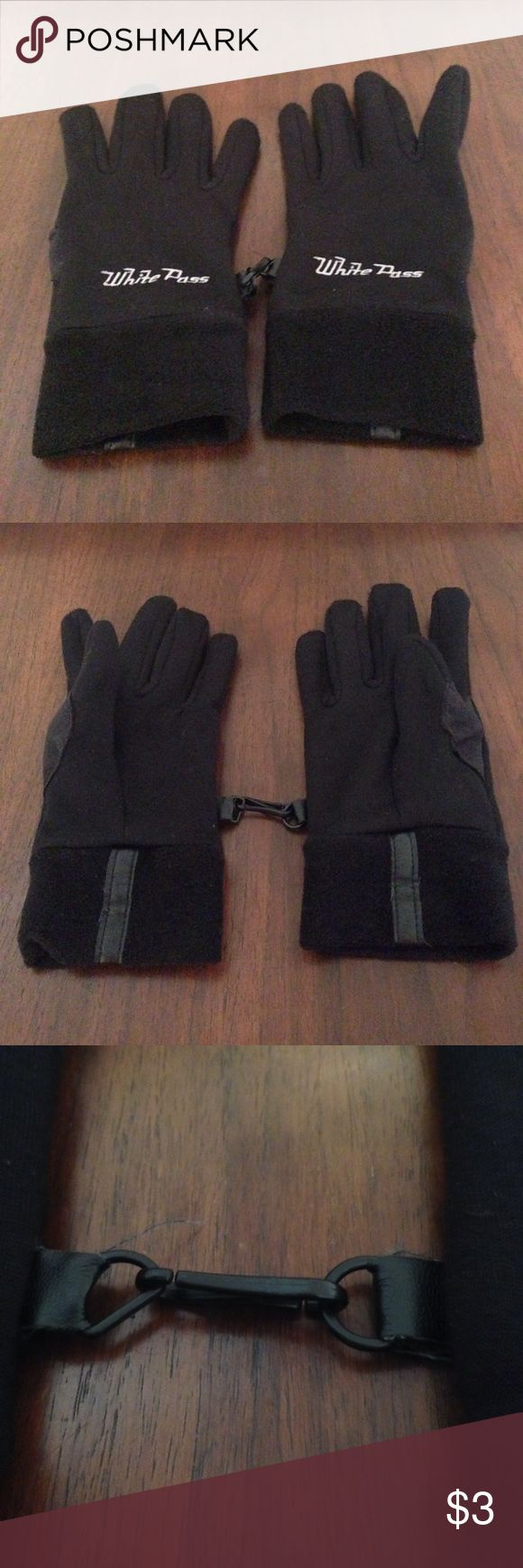 Mens fleece gloves xxl - Black Fleece Gloves