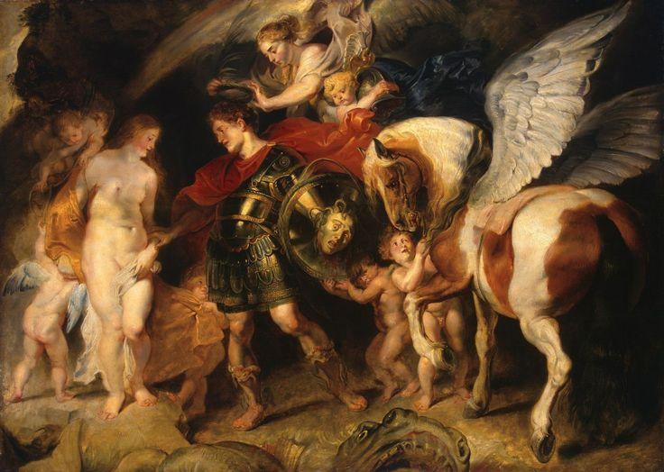 Персей и Андромеда  Питер Пауль Рубенс  Фландрия. Около 1622 г.