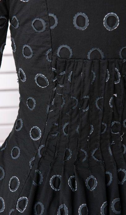 Alabama Chanin Coat detail by Miriam Delfiner Leutsch