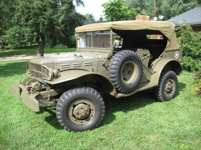 1942 Dodge WC56 WWII Command Car $22,000 [KY] | Vehiculos | Pinterest