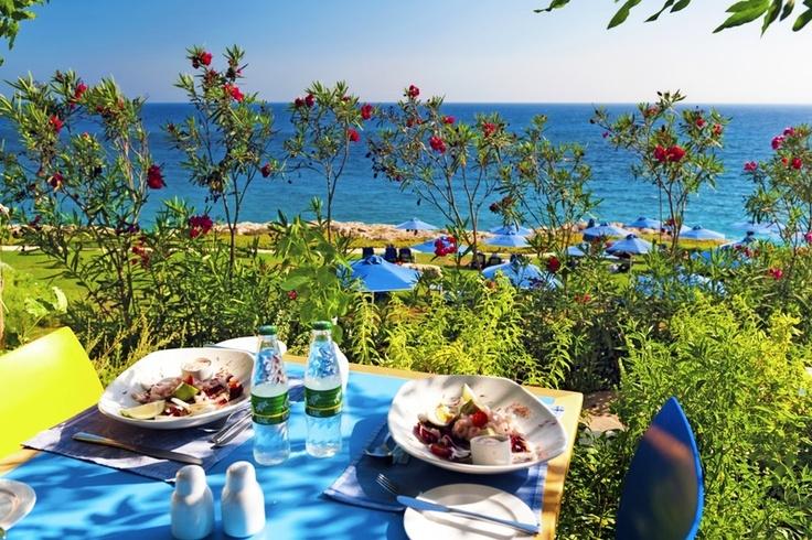 Lunch at Hotel Atlantica Sungarden, Ayia Napa, Cyprus