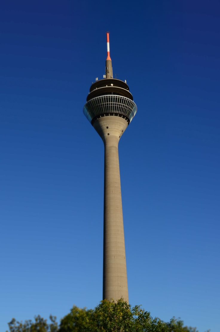 Tv Tower Düsseldorf Germany Düsseldorf