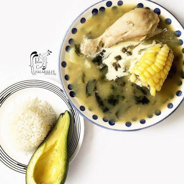 Ajiaco Santafereno Recetas De Comida Cocina Colombiana Ajiaco Bogotano