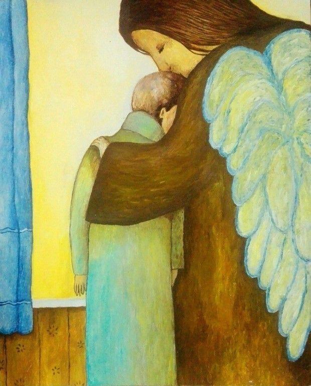 Сын хотел, чтобы мать умерла. Он любил её - просто устал. От болезней, что шли чередой, На пути появился провал. День и ночь у постели больной.  Он забыл, что такое - поспать. Тёмный Ангел довольный собой, Указал - виноватая, мать. И винил он себя и ругал - Прогонял эти мысли все прочь. Но душой о свободе мечтал, И мольбам уступила всё ж ночь. - Всё сынок... Ухожу... Ты прости... Вздох... Ещё... И вокруг тишина... Нету мамы... Уже не спасти... И обрушились вниз небеса. Придавило его, хоть ты…