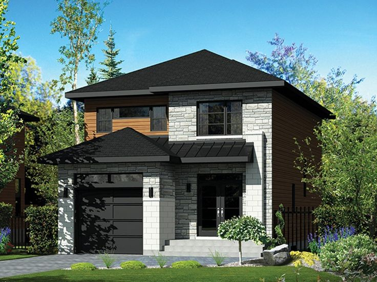 E Plans Contemporary Modern House Plan U2013 Unassuming Contemporary Design U2013  1761 Square Feet And 3 Bedrooms From E Plans U2013 House Plan Code