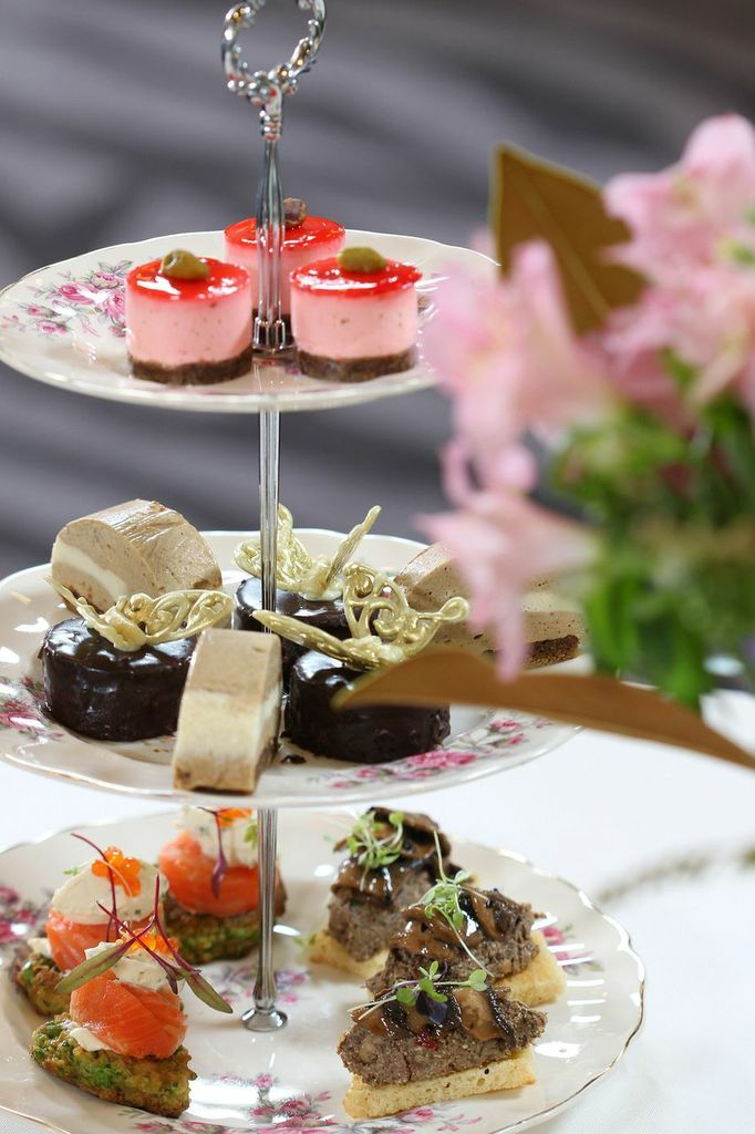 Our High Tea Challenge High Tea where we got a silver medal awarded by Simon Gault