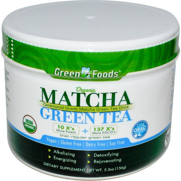 Green Foods Corporation, Organic Matcha Green Tea, 5.5 oz (156 g)