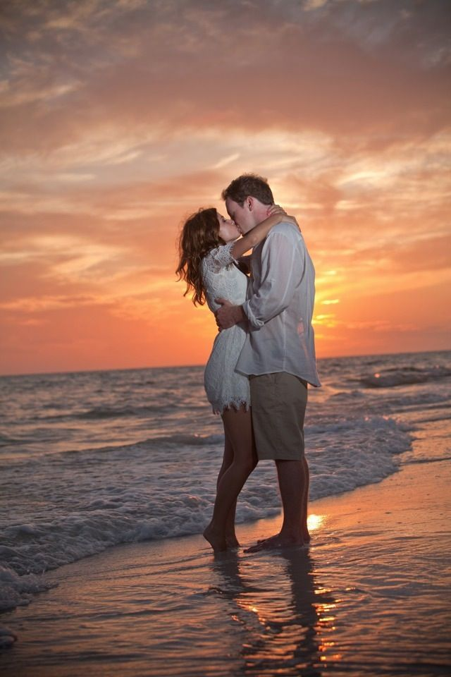 sarah & matt beach engagements, anna maria, florida