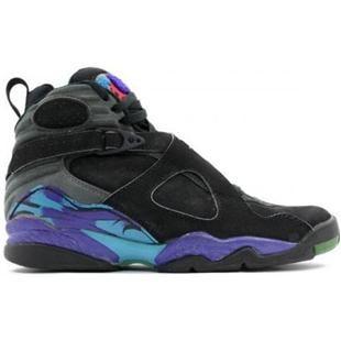 Wholesale Discount Aquas Air Jordan 8 (VIII) Retro Black/Bright Concord-Aqua  Tone Latest Now