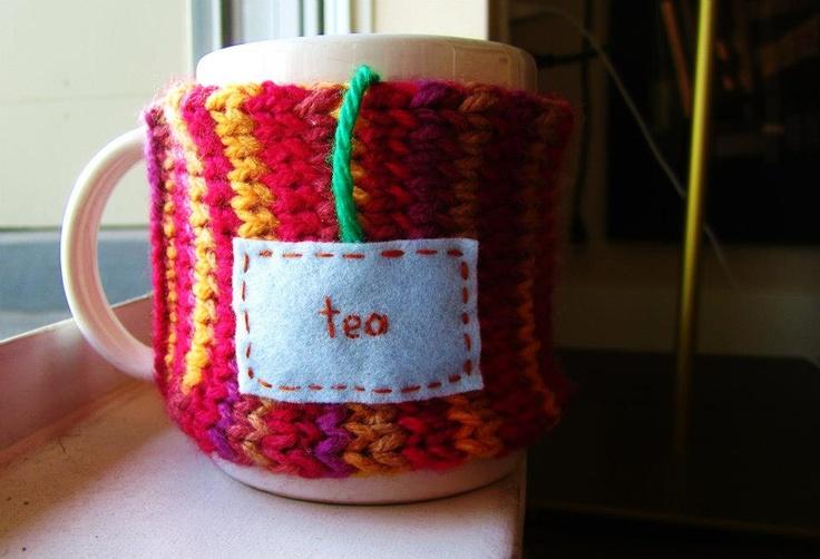 "Onana Snug Mug Cozy || ""Tea"""