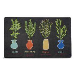 Multi Fresh Herbs Kitchen Comfort Floor Mat 18 MatKitchen DiningDining RoomApartment EssentialsFresh