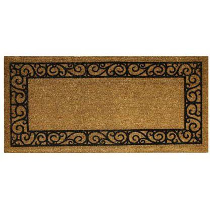 Bacova French Quarters - Long Koko Flocked Floor Mat by morelockers. $43.90. The Koko Flocked Floor Mats by Bacova are a functional and durable means of keeping dirt from coming into your home. The ÒflockedÓ fibers are glued on to the coir mat to effectively remove dirt from your shoes . Bocova Mats are a beautiful addition to your doorstep and efficiently keep your entryway dirt-free. About the Materials Bacova has constructed these floor mats with coarse ÒflockedÓ...