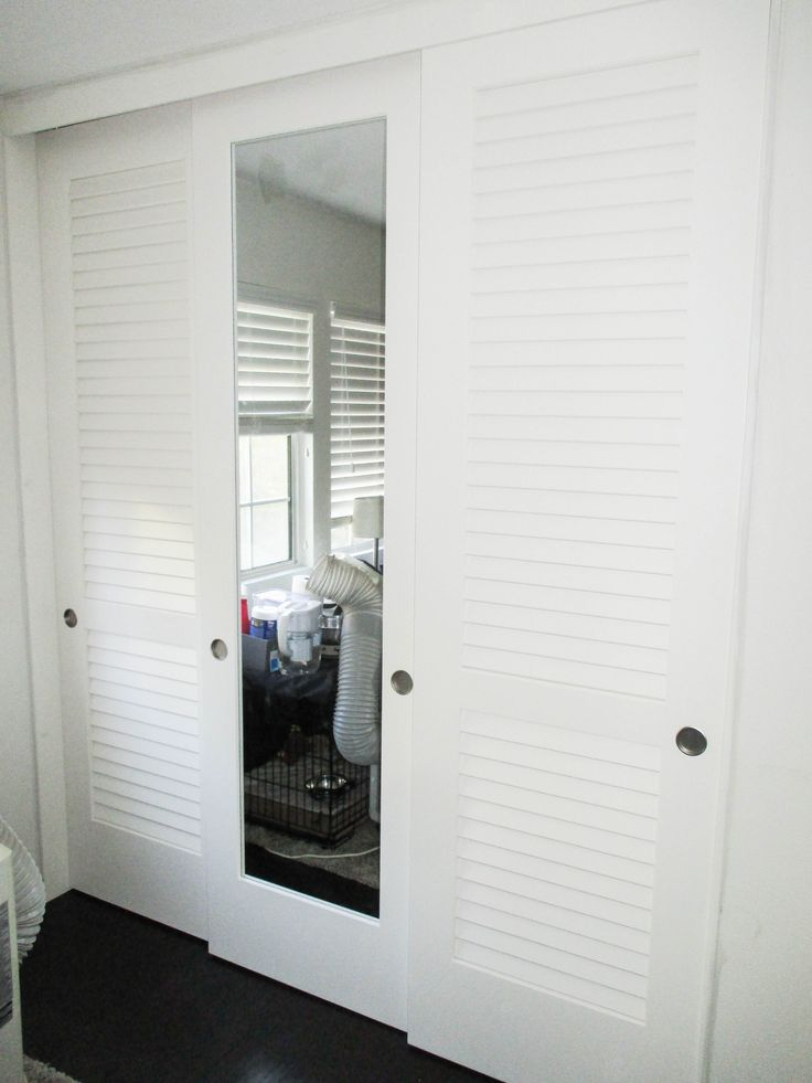 15 Best 3 Panel 3 Track Molded Closet Doors Images On