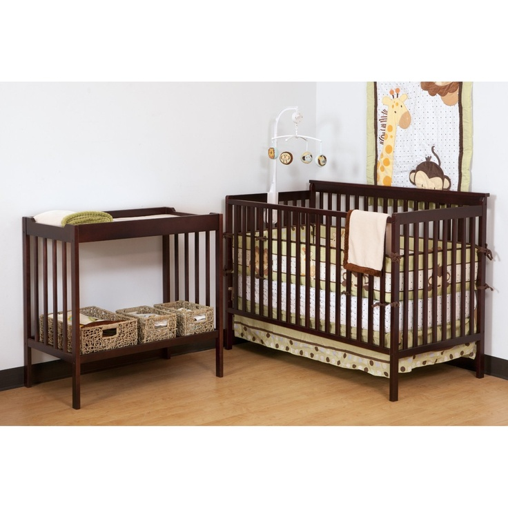 Convertible Crib and Changer Combo Set (Cherry). Only 3 left in stock so HURRY! Great Price!