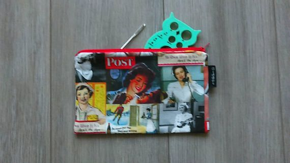 Check out this item in my Etsy shop https://www.etsy.com/ca/listing/569380628/sale-nurse-theme-print-pouch-make-up-bag