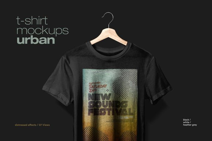 Download T Shirt Mockup Urban By Itscroma On Envato Elements Tshirt Mockup Shirt Mockup Clothing Mockup