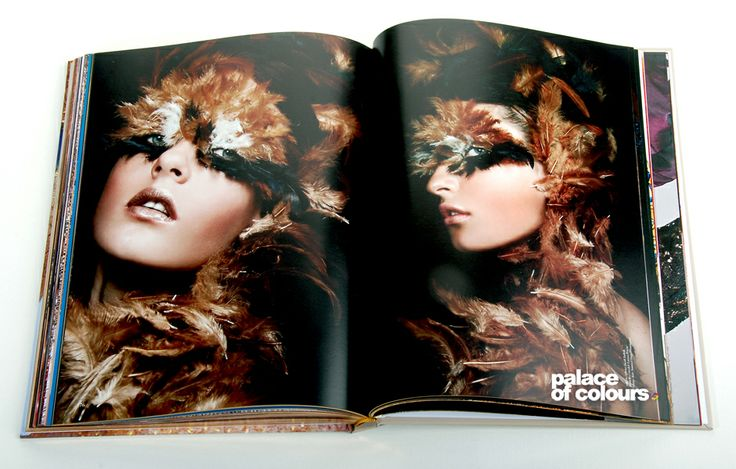 An extraordinary book on make-up - www.palaceofcolours.com