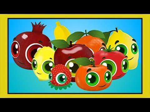 Renkler Sebzeler Meyveler - Eğitici Çizgi Film Çocuk Şarkısı - Edis ile ...