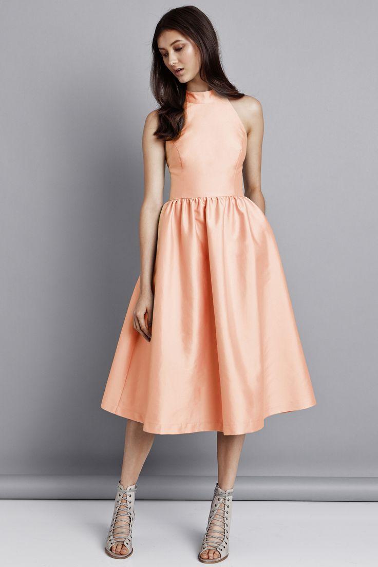 Pink Stitch - Last Word Dress - Apricot