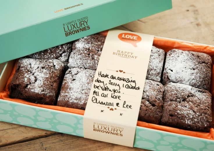 Supafrank Branding Packaging Product and Graphic Design Love Brownies