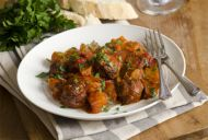 Spanish Albondigas in Cider & White Wine Sauce
