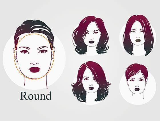 Yuvarlak yüzleri olduğundan daha uzun gösteren ve oval hatların belirginliğini ortadan kaldıran ünlülerin de tercih ettiği en güzel ve en popüler 10 saç modeli.