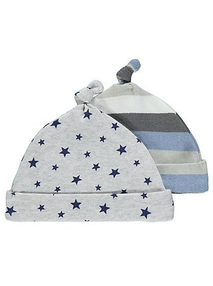 2 Pack Assorted Print Hats, read reviews and buy online at George at ASDA. Shop from our latest range in Baby. This 2 pack of adorable hats makes it easy to ...