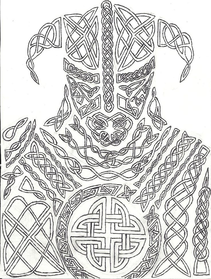 162 Best Norse Colouring Pages Images On Pinterest