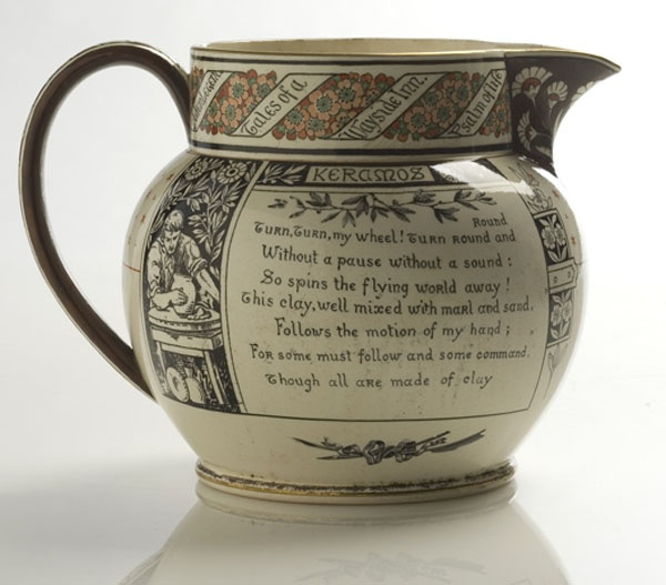 Wedgwood Henry Wadsworth Longfellow Jug,  - Cowan's Auctions