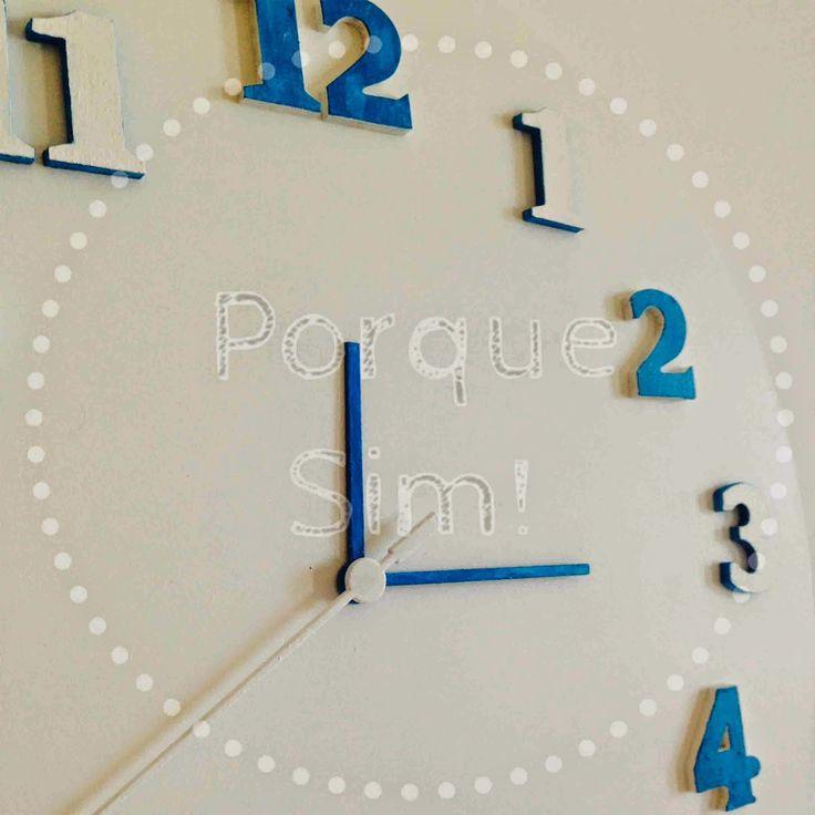 Porque Sim!: Relógio Azul