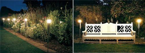 iluminacao de jardim fotos:de jardim led residencial externo 1 20 dicas de iluminação de jardim