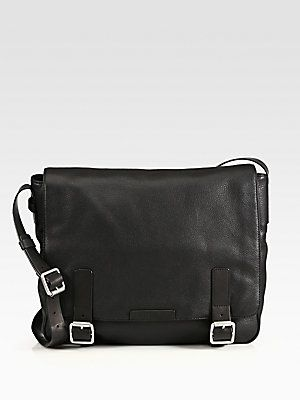 Marc by Marc Jacobs | Simple Leather Messenger Bag