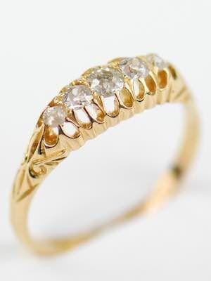 Victorian Antique Wedding Ring Topazery Rg 3635 This Antique