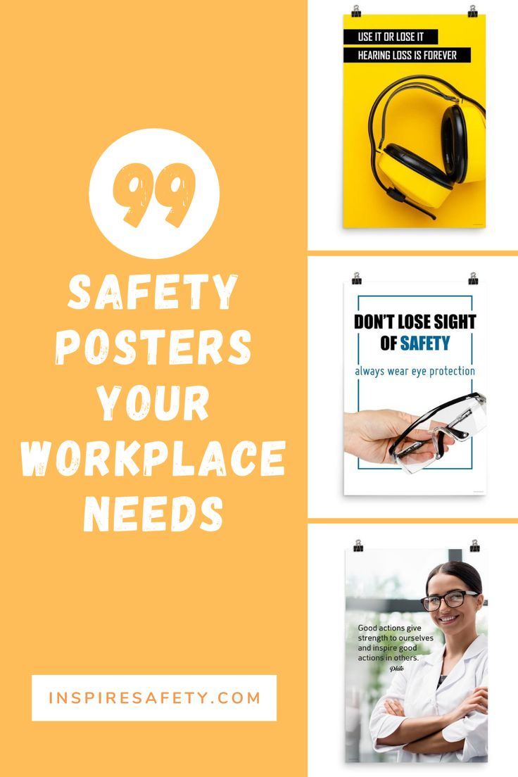 99 Safety Posters Your Workplace Needs in 2020 Safety